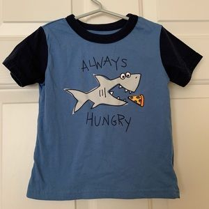 Falls Creek Always Hungry Shark Short Sleeve